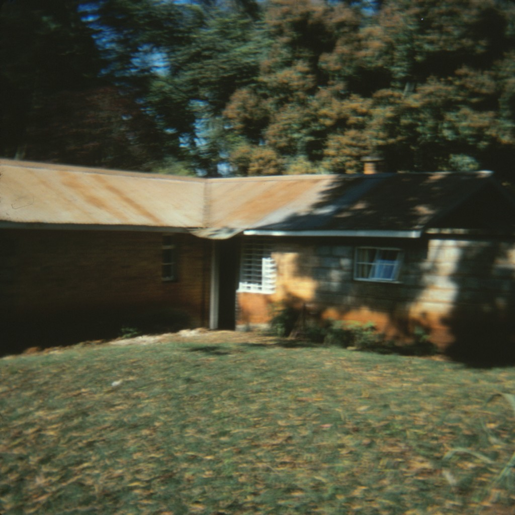 Bit blurry picture of the house where I lived in Kenya