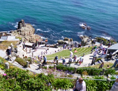 Minack Theatre seen as we were leaving