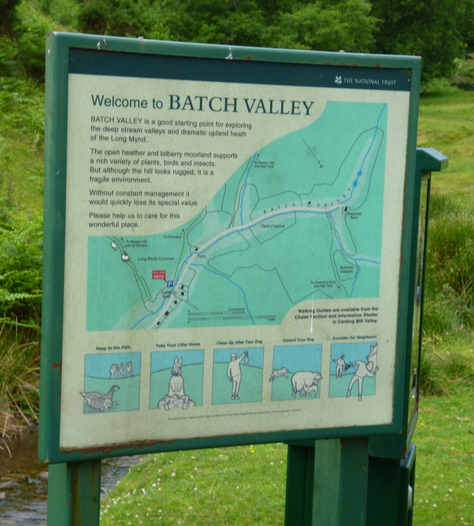 Start of the Batch Valley