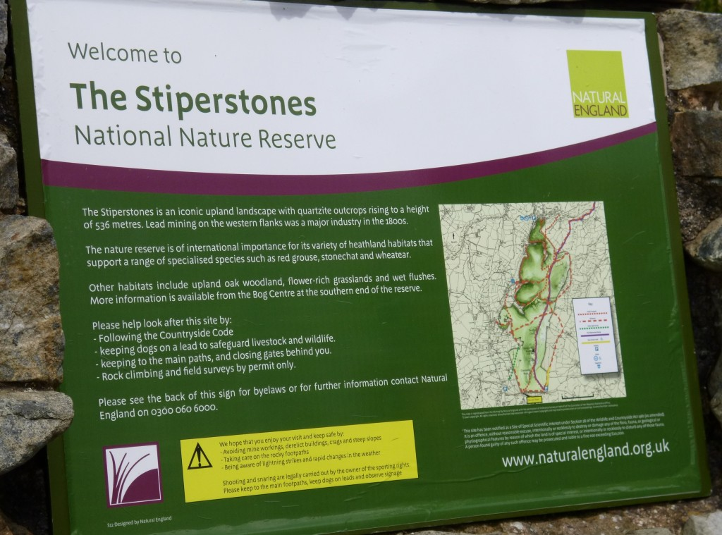 ......onto The Stiperstones.....