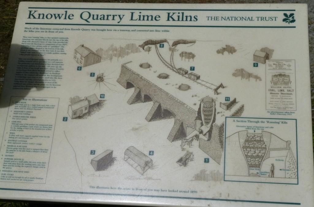 .....the lime kilns....