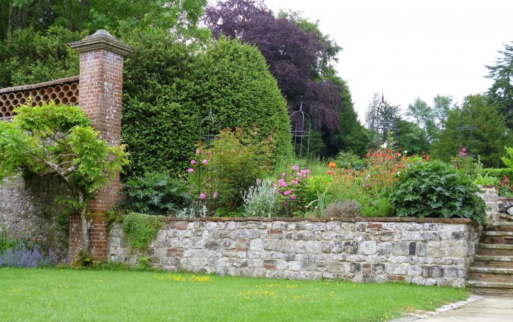 Part of the garden at Chawton House