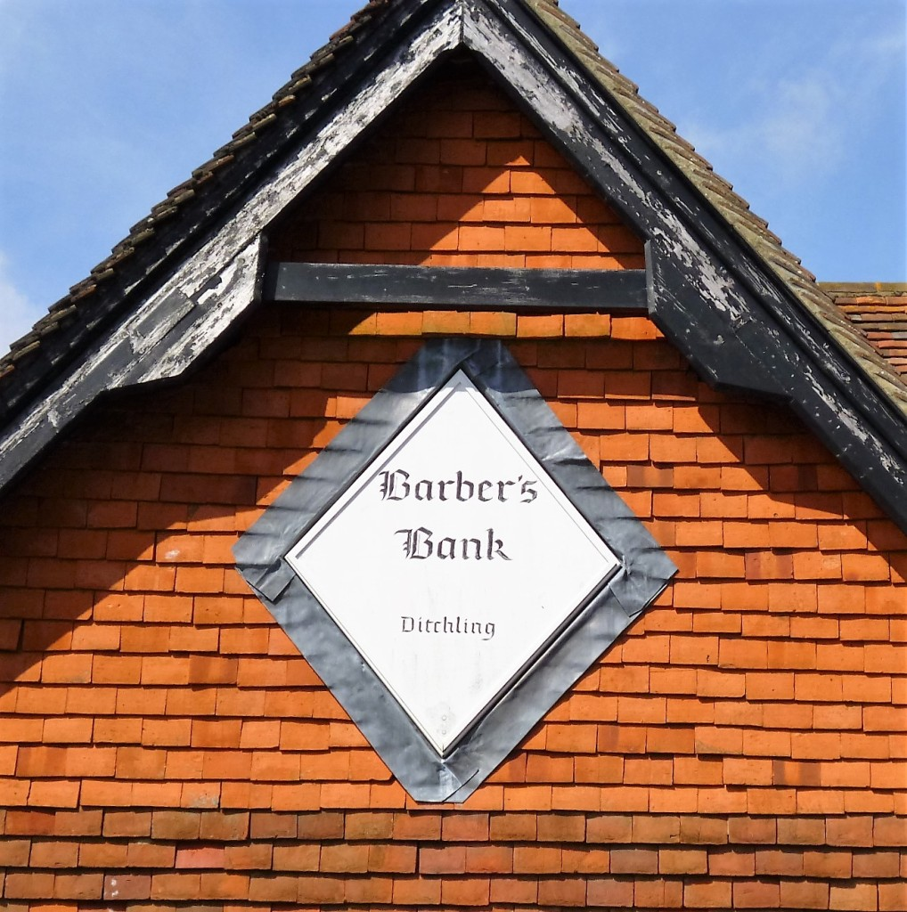 Sign in Ditchling