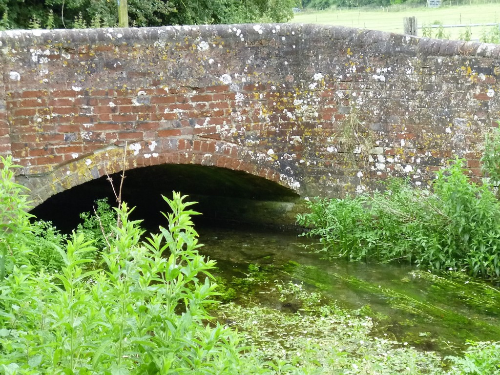 Bridge over Lavant stream