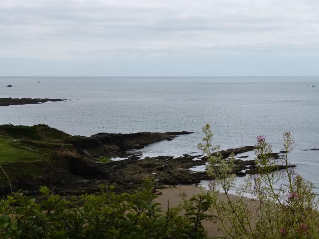 .....the shoreline...