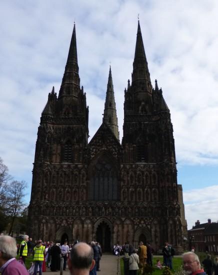 .....Lichfield Cathedral...