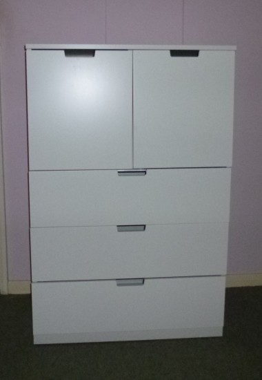 Completed chest of drawers