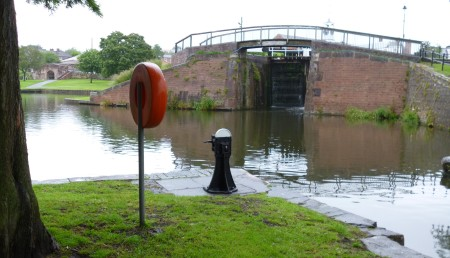 Entrance to canal basin