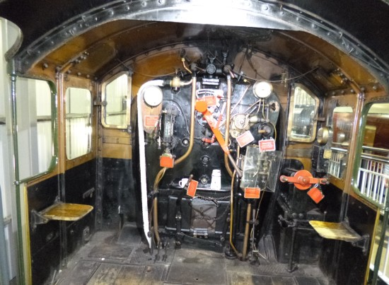 Engine footplate