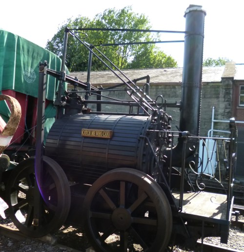 """Copy of Trevithick's """"Cath me who can"""""""