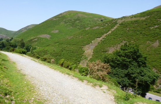 Looking across Carding Mill valley