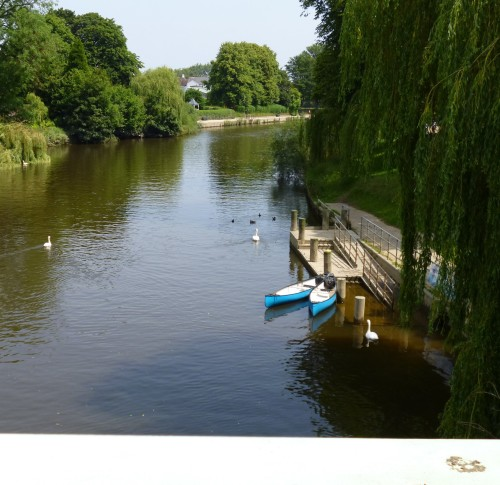 River Severn from the Welsh Bridge