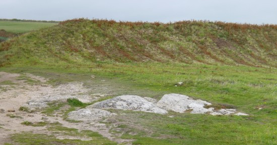 Part of Treryn Dinas Cliff Castle