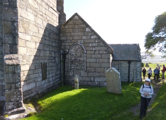 Looking at St Uny Church