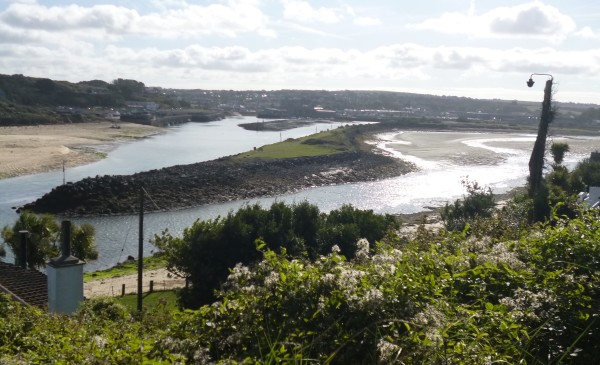 From the coastal path